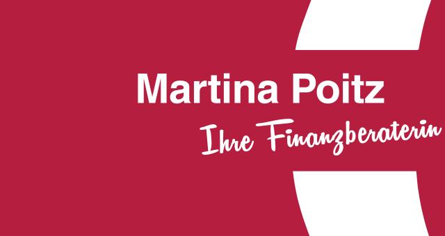Martina Poitz - Ihre Finanzberaterin